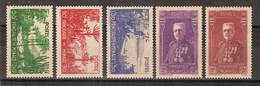 Monaco - YT N° 135 Et 139 - Neuf Avec Charnière - 1937 - Monaco
