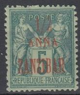 #131# ZANZIBAR N° 17a * - Sansibar (1894-1904)