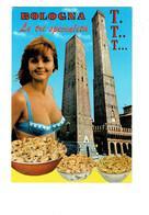 CPM - Bologna - Le Tre Specialita T.T.T. Lettre Alphabet - Femme Maillot De Bain Pin'up - Pates - Bologna