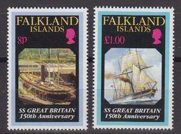 Falkland Islands 1993 SS Great Britain 2v ** Mnh (40958) - Falklandeilanden