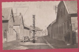 62 - MORCHIES---La Grande Rue--automobile--animé----cpsm Pf - France
