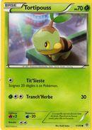 Carte Pokemon 1/135 Tortipouss 70pv 2013 - Pokemon