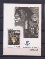 ESPAÑA 2005 - PRUEBA VIDRIERAS DE LA CATEDRAL DE AVILA - EDIFIL Nº 91 - 1931-Oggi: 2. Rep. - ... Juan Carlos I