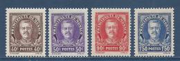 Monaco - YT N° 115 à 118 - Neuf Avec Charnière - 1933 - Monaco