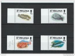 SAINTE HELENE 1994 - YT N° 619/622 NEUF SANS CHARNIERE ** (MNH) GOMME D'ORIGINE LUXE - Saint Helena Island