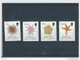 TRISTAN DA CUNHA 1990 - YT N° 469/472 NEUF SANS CHARNIERE ** (MNH) GOMME D'ORIGINE LUXE - Tristan Da Cunha