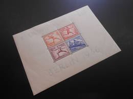 D.R.Mi Block 6*MLH - Olympische Spiele - 1936 - Mi 50,00 € - Unused Stamps