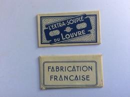 Collector : Lame De Rasoir Ancienne - L' EXTRA-SOUPLE DU LOUVRE - Razor Blades