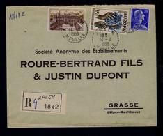 1958 Europe CEPT APACH Marchitecture Chateaux GRASSE Alpes-Maritimes #9810 - Châteaux