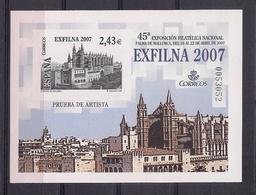 ESPAÑA 2007 - PRUEBA EXPOSICION FILATELICA EXFILNA 2007 PALMA DE MALLORCA - EDIFIL Nº 94 - 1931-Hoy: 2ª República - ... Juan Carlos I