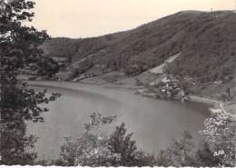 12 - SAINT GENIEZ D'OLT : Le Lac à CABANAC - CPSM Dentelée Noir Blanc Grand Format Postée 1963 - Aveyron - France
