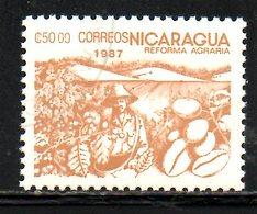 NICARAGUA. N°1456 Oblitéré De 1987. Cacao. - Ernährung