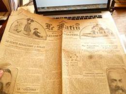 Journal Le Matin 25/12/1918 - Kranten