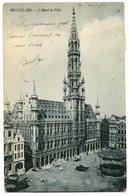 CPA - Carte Postale - Belgique - Bruxelles - L'Hôtel De Ville - 1909 (SV5967) - Monumenten, Gebouwen