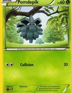 Carte Pokemon 4/106 Pomdepik 60pv 2014 - Pokemon