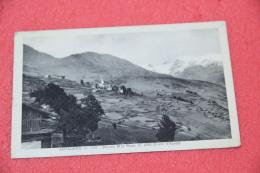 Antagnod Aosta Veduta Con Lo Sfondo Del Monte Rosa 1941 +  Timbro Sconosciuto Al Portalettere - Non Classés