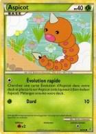 Carte Pokemon 69/95 Aspicot 40 Pv 2010 - Pokemon