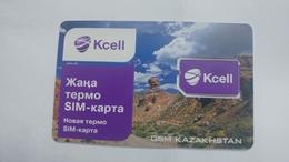 Kazakstan-g.s.m.-(kcell)-mint+2 Card Prepiad Free - Kazakhstan