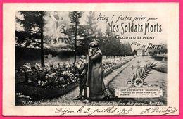 Dijon - Cimetière Des Péjoces - Sépultures - Priez Faites Prier Nos Soldats Morts Glorieusement Pour La Patrie - CHAPUIS - Oorlogsbegraafplaatsen