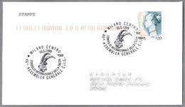 46 ASAMBLEA CONSEJO INT. DE LA CAZA C.I.C. - Int. Concil Of Hunting. Milano 1999 - Animalez De Caza