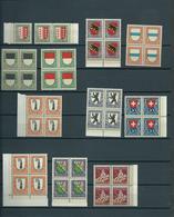 Switzerland Old Collection Pro Juventute,cat.value Michel 120,00 EURO MNH/Postfris/Neuf Sans Charniere(D-137) - Zwitserland
