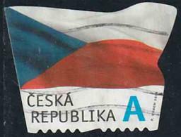 Tchéquie 2015 Yv. N°784 - Drapeau De La République Tchèque - Oblitéré - Tchéquie