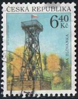 Tchéquie 2003 Yv. N°333 - Tour Slovanka De Jablonka - Oblitéré - Tchéquie