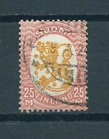 1921 Finland Definitive 25M. Used/gebruikt/oblitere - Gebruikt