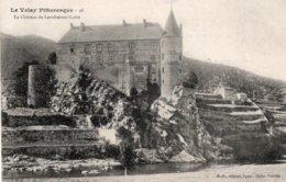 CPA   43   LE CHATEAU DE LAVOUTE-SUR-LOIRE---1906 - Autres Communes