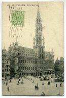 CPA - Carte Postale - Belgique - Bruxelles - L'Hôtel De Ville (SV5968) - Monumenten, Gebouwen