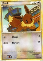 Carte Pokemon 47/90 Evoli 50pv 2010 - Pokemon