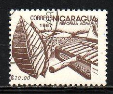 NICARAGUA. N°1451 Oblitéré De 1987. Tabac. - Tabak