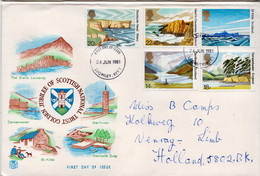Postal History Cover: GB Used FDC - Other
