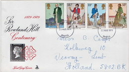 Postal History Cover: GB Used FDC - Post