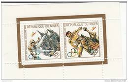 Niger Nº Michel 1099 Al 1103 En Tres Hojas - Summer 1992: Barcelona