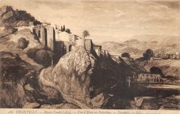 Ebra ( à Situer ) Peinture Decamps Musée Condé Chantilly - Palestine
