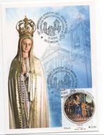 Annullo Filatelico 101 Apparizione Madonna Fatima Messina S Caterina 13 10 2018 - Cristianesimo