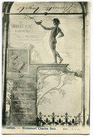 CPA - Carte Postale - Belgique - Bruxelles - Monument Charles Buls (SV5970) - Monumenten, Gebouwen