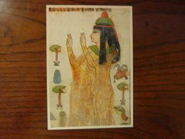 La Dame Tapéret Priant - Bois Peint - Antichità