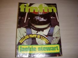 TINTIN 045 13.11.1973 AUTO F1 Jackie STEWART POSTER FORD TYRRELL François CEVERT - Tintin