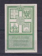 DIVISIONE MILITARE MESSINA STAMP GREEN VERDE-ITALY CIRCA I WORLD WAR- BLEUP - Militaria