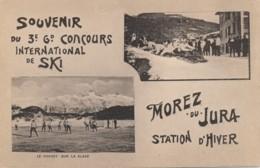 H174 - 39 - MOREZ - Jura - Souvenir Du 3e Gd Concours International De Ski - Morez-du-Jura - Morez