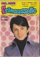 FRIMOUSSETTE N°74 Nov 1967 (Hervé Villard, Gilbert Grenier, Michel Sardou, Cat Et Maxime) - Magazines Et Périodiques