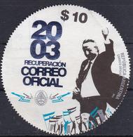 RECUPERACION CORREO OFICIAL AÑO 2003 NESTOR KIRCHNER PRESIDENTE- BLEUP - Argentina
