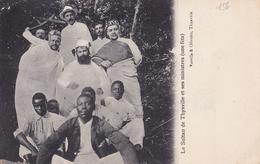 CONGO Le  Sultan De THYSVILLE Et Ses Ministres ( Une Fete ) - Congo Francese - Altri