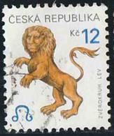 Tchéquie 2001 Yv. N°268 - Signes Du Zodiaque - Lion - Oblitéré - Tchéquie
