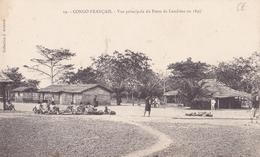 CONGO  FRANCAIS  Vue Principaledu Poste De LOUDIMA En 1885 - Congo Francese - Altri