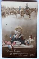 CPA Cavalerie Jeune France Que Nos Sodats Soient Victorieux Carte Patriotique Guerre 14-18 WWI Bihorel 1914 - Weltkrieg 1914-18