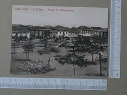 CABO VERDE - PRAÇA DO ALBUQUERQUE -  S. THIAGO -   2 SCANS  - (Nº25736) - Cape Verde