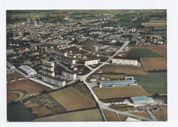 79--SAINT MAIXENT L ECOLE---VUE  AERIENNE  - RECTO/VERSO- B39 - Saint Maixent L'Ecole